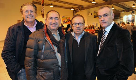 19. Claude Hochdoerfer (Euro Agro), Momo Djemili (CER Oullins), Félix Greck (Multis) et Christian Coulot (Renault Lyon Ouest)