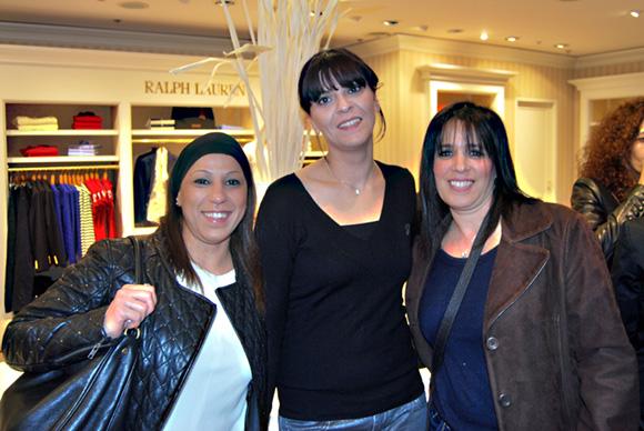 19. Saïda Melouk, Laetitia Ghanen et Yasmina Talhi