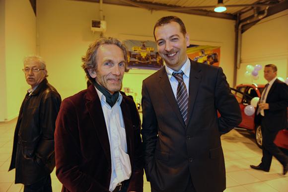 22. Jean-François Gagneur (Mairie de Givors) et David Meunier (Renault Givors)