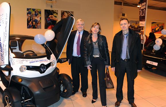 3. Franck Levotre, président du groupe Levôtre, Nathalie Goillon et Gérard Bereziat (CIC)