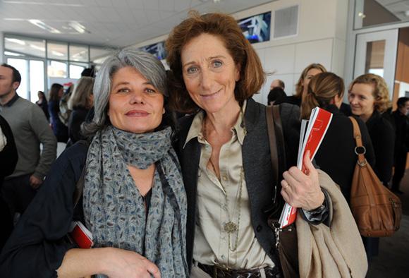 33. Dorothée Delomier (Agence Corrida) et Brigitte Honegger (Fly On & TGV Mag)