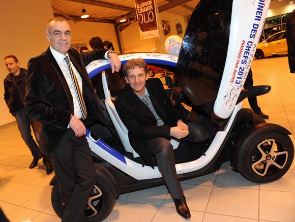 33. Christian Coulot (Renault Lyon Ouest) et Emmanuel Pouchon (Direction régionale Renault)