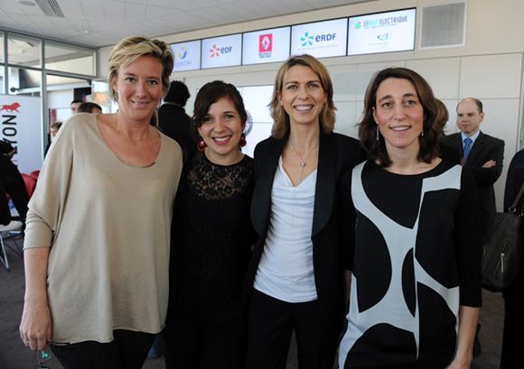 36. Olivia Cuir (Esprit des Sens), Emmanuelle Sysoyev (OnlyLyon), Alexandrine Barboteu (Esprit des Sens) et Céline Varenne-Souchon (Grand Lyon)