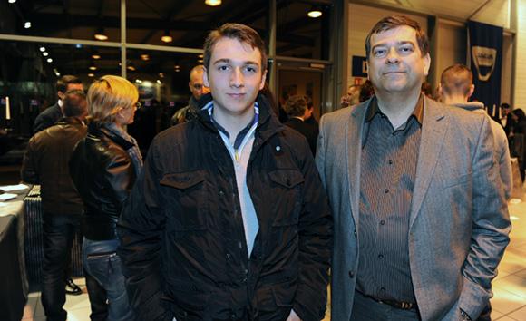 36. Jean-Baptiste et son père Guy Boisserin (Ville de Brignais)