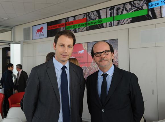 4. Pascal Ronziere (Sanofi) et Gérard Auboeuf (OnlyLyon)