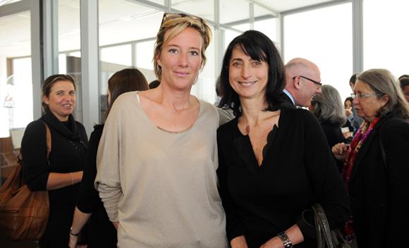 42. Olivia Cuir (Esprit des Sens) et Anne-Marie Baezner (GL Events)