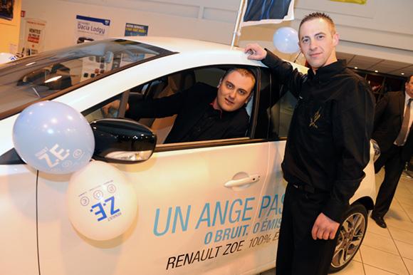 5. Mathieu Michelaud et Daniel Pagliasso (Renault Lyon Ouest)