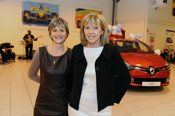 7. Nathalie Richard et Dany Carnevali (Renault Lyon Ouest)