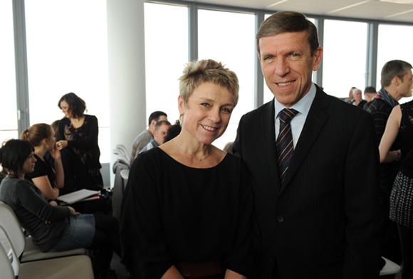 8. Hélène Badon-Murgue (Sanofi) et Jacques de Chilly (Aderly-Invest In Lyon)