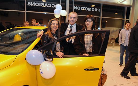 9. Corinne Font, Christian Coulot (Renault Lyon Ouest) et Isabelle Recarey (Athlon Car Lease)