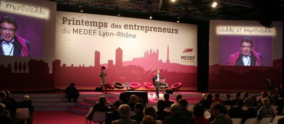 Le Medef Lyon-Rhône prépare son Spring Break avec Stéphane Diagana