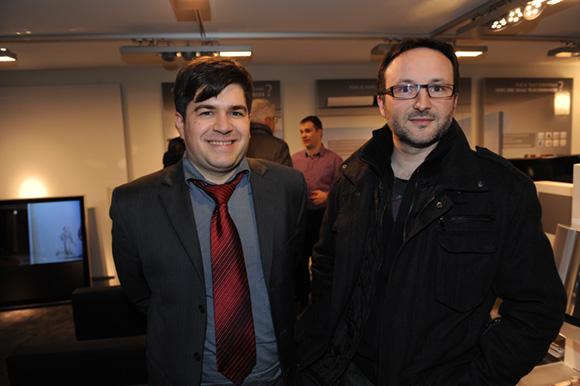 10. Bruno Decourt (Bang & Olufsen) et Stéphane Rosa (DSR)