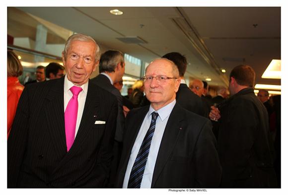 10. Guy Malher ancien président de la CCI et Jean-Marie Busseuil (Conseil économique et social)
