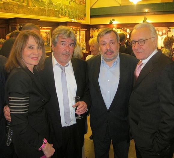 11. Françoise Petit, Michel Chabran, Périco Legasse et Alain Ducasse