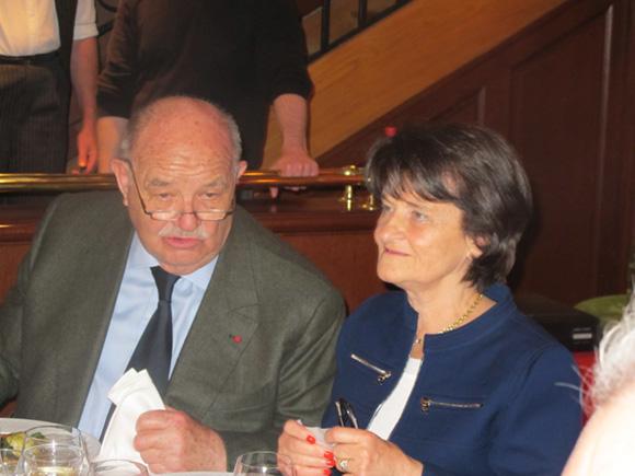 12. Pierre Troisgros et Rolande Duboeuf