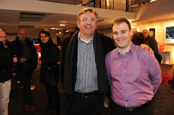 13. Richard Kwiecien (France Marquting) et Olivier Brun (Beto)