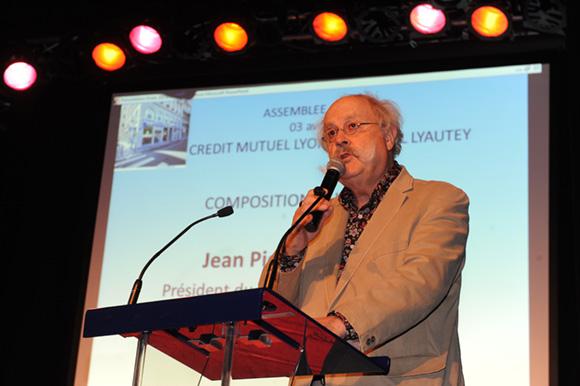 13. Jean-Pierre Bessard, président du conseil d'administration