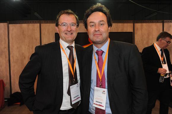 17. Olivier de Roquetaillade (Cabinet Eagle Conseil) et Cyril Courjaret (Lyonnaise des Eaux)