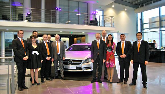 1. L'équipe de Mercedes