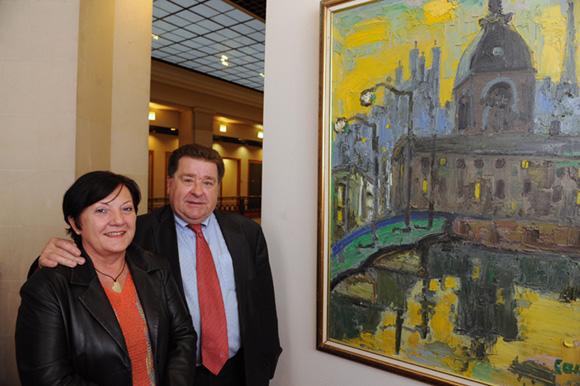 18. Maitre Monique Tronel-Ducher et son époux Bruno Tronel, adjoint maire du 6ème