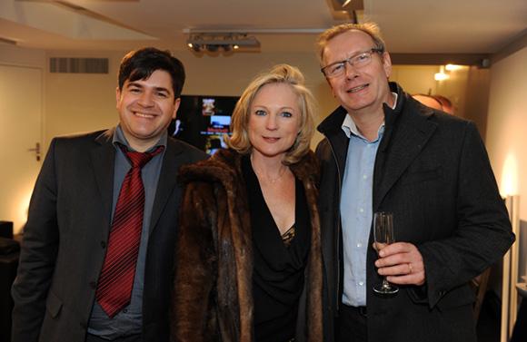 18. Bruno Decourt (Bang & Olufsen), Nathalie et son époux Bertrand Malher (Mérial)