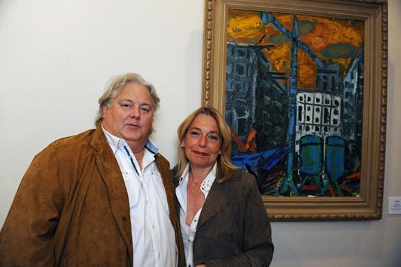 19. Philippe Bizet, président des commerçants St Genis 2 et son épouse Christel