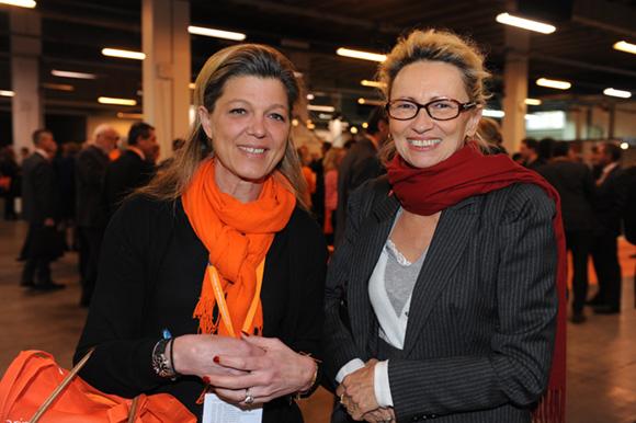 19. Laurence Fliche (Medef) et Françoise Berger (Métallurgie Rhodanienne)
