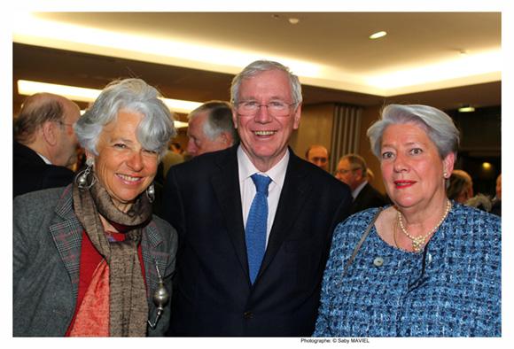 19. Victoria et Philippe Brossette, président de la Fondation Berliet, et Anne Lacroix