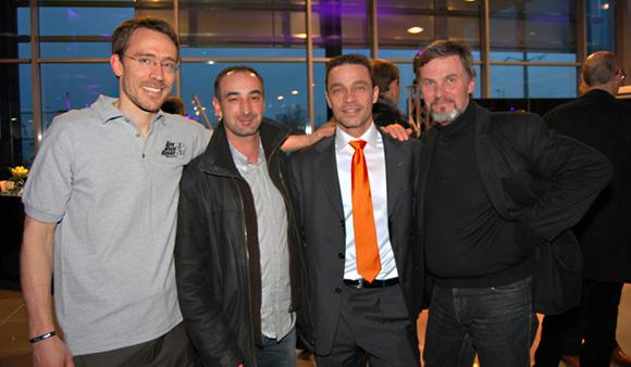 20. Jérôme Huebra (AWRS), Patrick Bienvenu, Christophe Carrougeaux et Patrick Spay