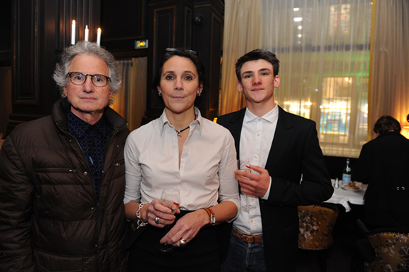 20. Marco Asti (Tartufo), son épouse Valérie (Acteurs de l'économie) et leur fils Thomas
