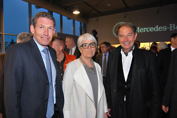 21. Till Conrad (PDG Mercedes-Benz France), Christiane Demontès (Maire de Saint-Fons et Sénatrice du Rhône) et Jean-Pierre Calvel (Grand Lyon)