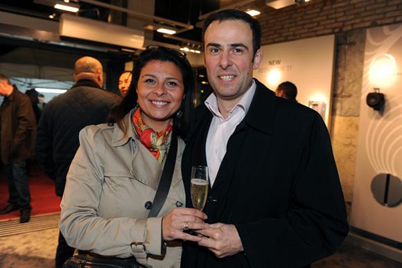 21. Florence Lignon (Agility) et Fabrice Fayard (Mylan)
