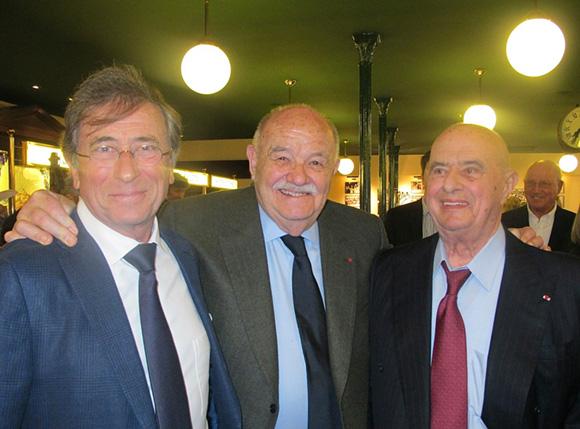 2. Jean-Paul Lacombe, Pierre Troisgros et Paul Bocuse