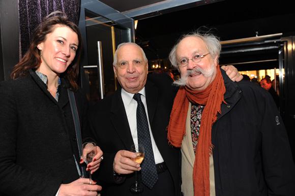 23. La vétérinaire Béatrice Bessard, Romain Migliorini (MTRL) et Jean-Pierre Bessard (Crédit Mutuel)