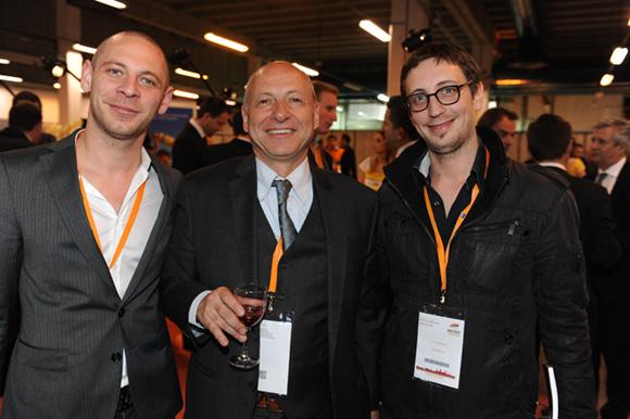 24. Alexandre Villard (Café Milano Marronniers), l'horloger Jean-Louis Maier et Yann Maitrias (Café Milano Mercière)