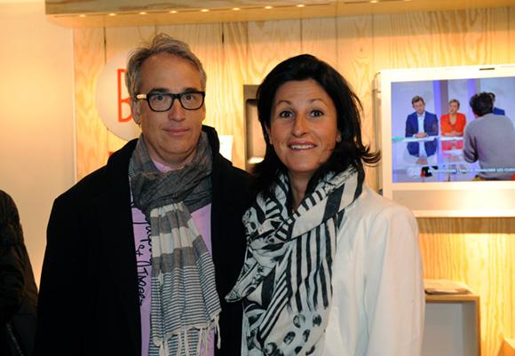 25. Philippe Croiseau, président de Porsche club et son épouse Nathalie (Latika)