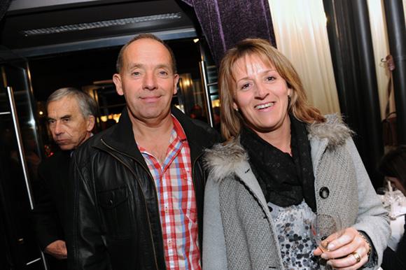 25. Christian Eychenne (Parc & Sport) et son épouse Sylvie (Ville de Caluire)