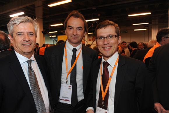 27. Bernard Poncin (CCI du Beaujolais), Norbert Fontanel (Fontanel) et Alain Fauveau (CCI de Lyon)