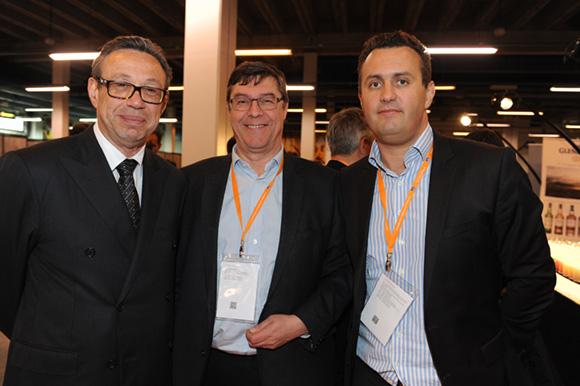 28. Jean-Pierre Rinaudo (Groupe Vulcain), Bruno Metzle (Zinc Zinc) et Peter Bouchet (Anytime)