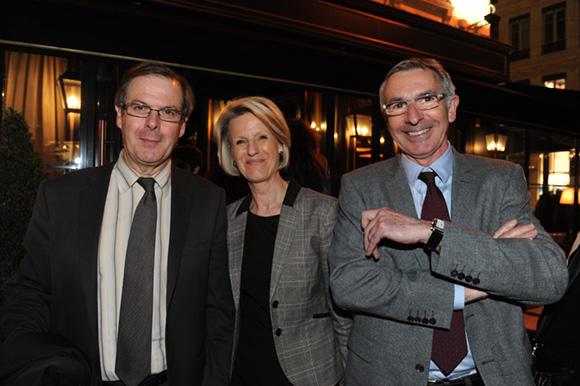 30. Bernard Gay (Crédit Mutuel), Inès Andrieu et Johann Howa (Crédit Mutuel)