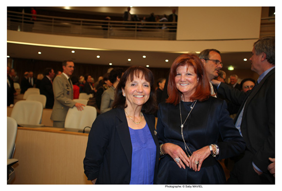 3. Magali Carenco et Chantal Mérieux