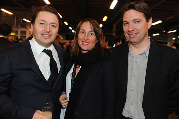 35. Pascal Marché (Chazal), Cécile Marché (Diversa) et Eric Doyen (Sobeca)