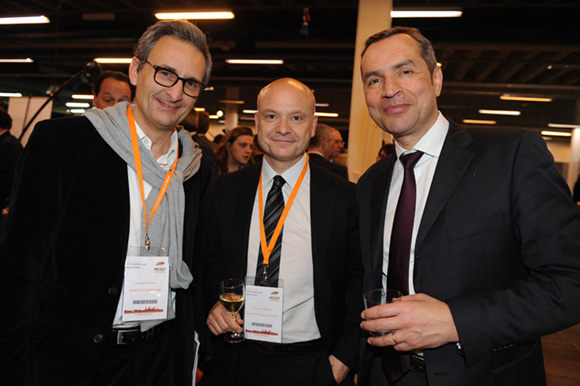 36. Daniel Brechignac (Pauporte Seniorschic), Pierre-Yves Hentzen (Arkoon Network Security) et Robert Dambo (Grant Thornton)