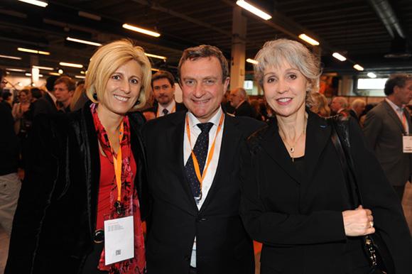 38. Danny Morsilli (La Sphère des Possibles), Mathieu Roiret (Roiret Organisation Conseil international) et Elisabeth Delanque (ADM Indépendante)
