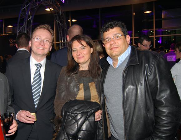 39. Franck Soccol (Mercedes-Benz Lyon), Laurence & Laurent Chabbat (Tonic Radio)