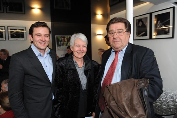 4. Cyrille Bouvat, chef de cabinet du maire du 6ème, Christine Calzia (Lions Club) et Bruno Tronel, adjoint au maire du 6ème