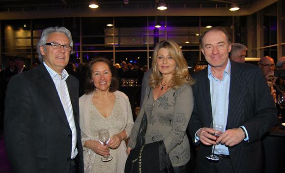 41. Bernard Buffard (La Sphère des Possibles), Corinne Basset, Florence Beylat (ShortLine) et Yves Rioton (Séminaires Business)