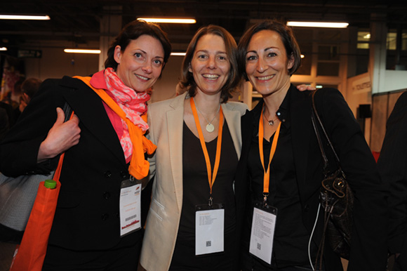42. Caroline Bourgeois-Riou (Europe S2M), Aurélie Dantzikian Frachon (Lamy Lexel) et Sylvie Madamour (Vendredi 4)
