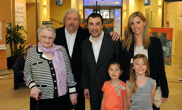 4. Alain Vollerin et la famille Couty