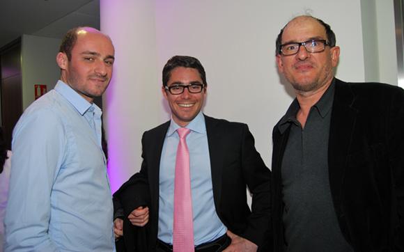 43. William Koehl (Koehl assurances), Thibault Feval (PGT) et Alain Portal (I2C)